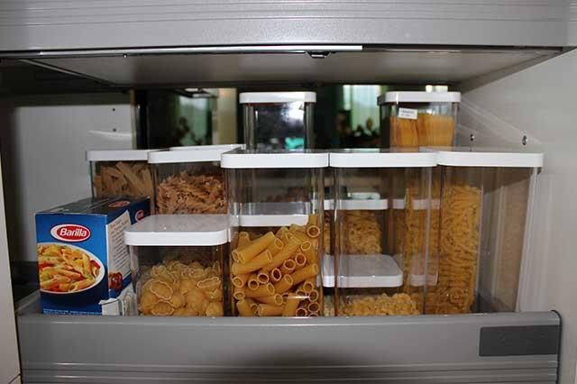 Küche neu organisiert