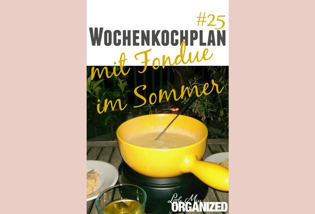 Wochenkochplan #25