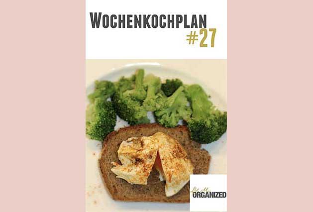 Wochenkochplan #27