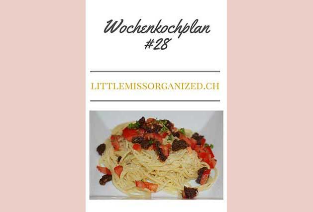 Wochenkochplan #28