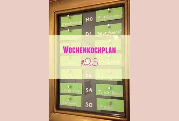 Wochenkochplan #13